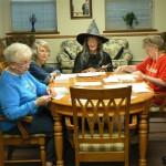 L to R: Irene Penwell, Pat Weeden, Norma Olin, Norma Frank