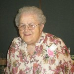 25 years of Volunteering: Eva Arnold.   Missing is     Irene Hoague