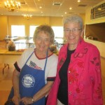 Judy Robson and Kris Grutzner