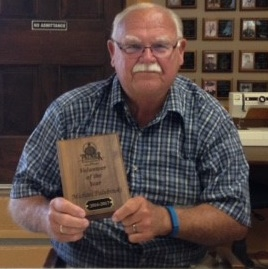 One of our volunteers, Mike Palubinski, received a Volunteer of the Year award from Premiere Rehabilitation and Skilled Nursing. Mike is an activity aid and enjoys helping the residents. We couldn't think of a better recipient. CONGRATS Mike!!