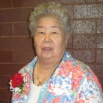 Yoshiko Glos 25 Yrs of volunteering.